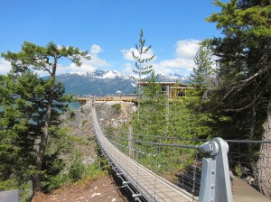 Sea to Sky bridge