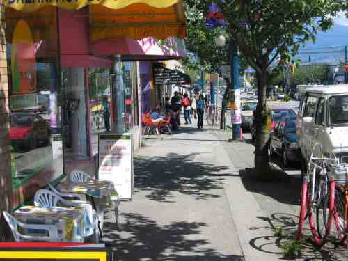 Vancouver Main Street Shopping Bcpassport